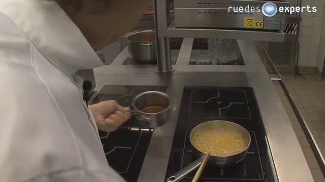 Sauce caramel gingembre huile de sesame