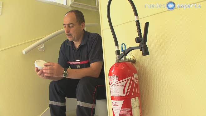 Le détecteur d'incendie