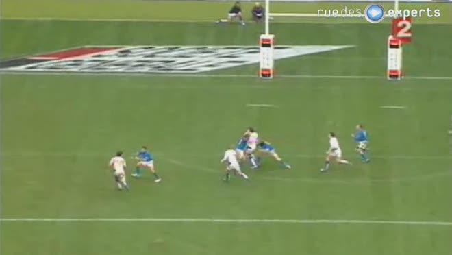 Le terrain de rugby?